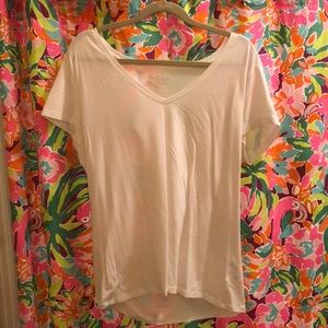 Lilly Pulitzer xl white top